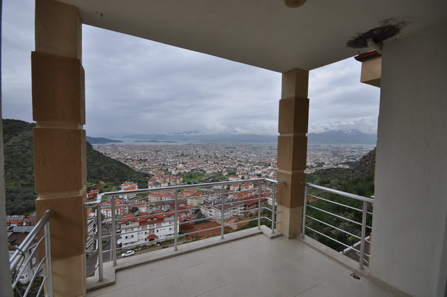 Real Bargain! Three Bedroom Sea View Apartment For Sale in Fethiye