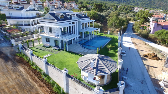 SOLD!!! Luxurious 4 Storey Smart Villa With Amazing View in Ovacik