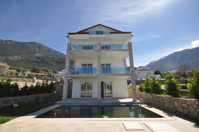 SOLD!! Bargain! Four Storey Detached Villa in Ovacik