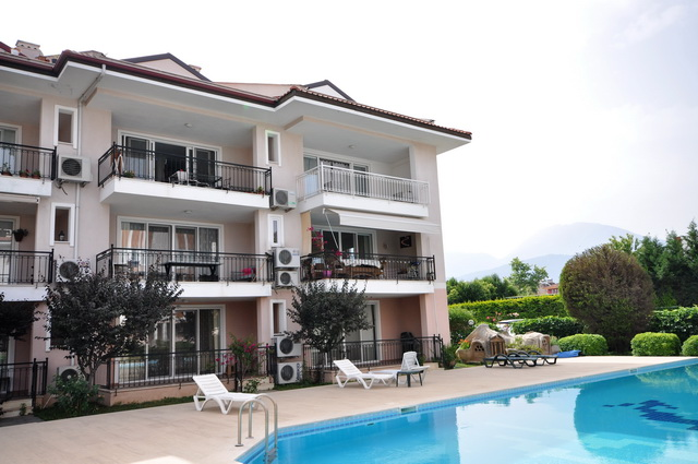 ON HOLD!!! Specious Fethiye Apartment With Sea View