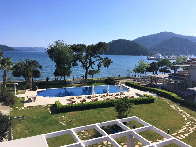 Luxurious Sea Front Apartment Right in The Heart of Gocek For Sale