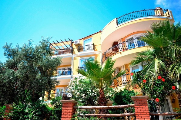 Fully Furnished Kalkan Apartmet With Sea View For Sale