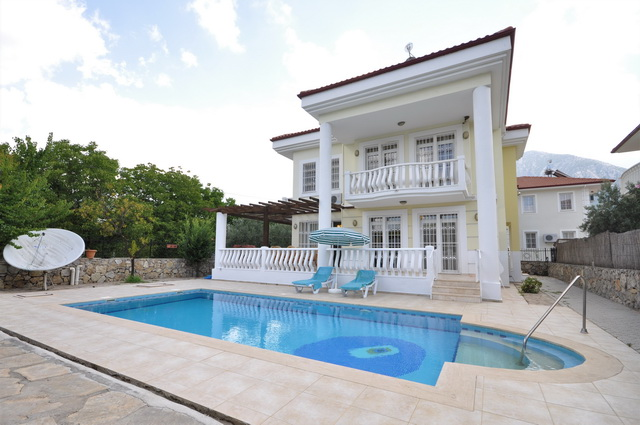 Sold!!! Four Bedroom Detached Vila For Sale in Uzumlu
