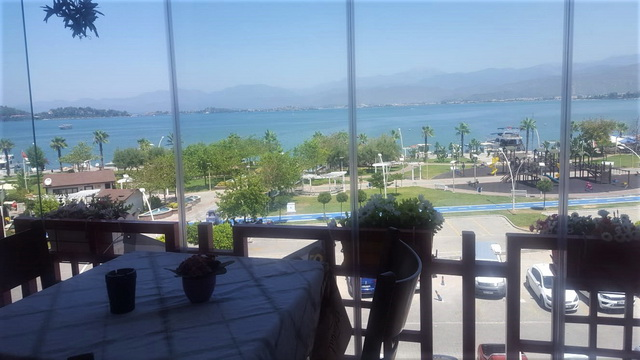Marina Apartment For Sale With Sea View in Fethiye Town Center