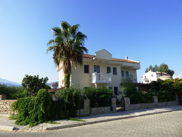 Detached Corner Villa With Great Outdoor Space and Privacy, Fethiye Town