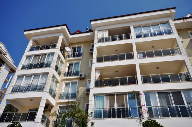 Four Bedroom Sea View Apartment For Sale in Fethiye