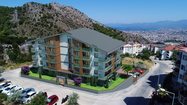 Off-Plan 1-2-4 Bedroom Apartments With Beautiful Views in Fethiye