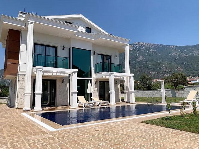 Luxury Designed 4 Bedroom Detached Villa  in Ovacik For Sale