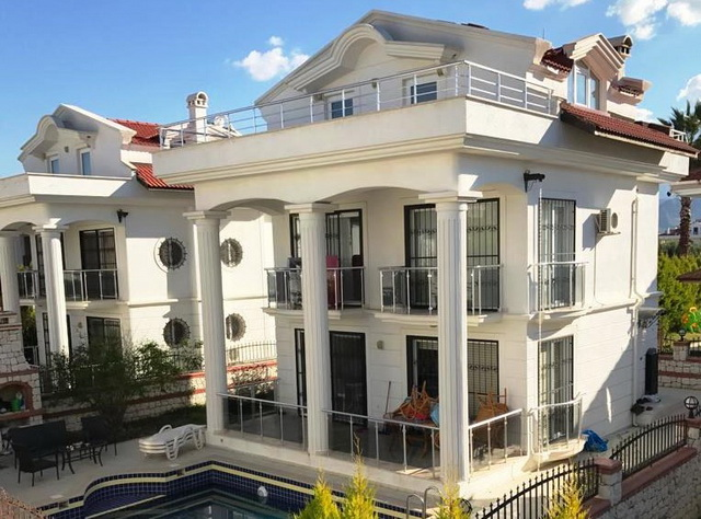Exclusive Fethiye Town Villa Near Amenities 3 Bedrooms for sale
