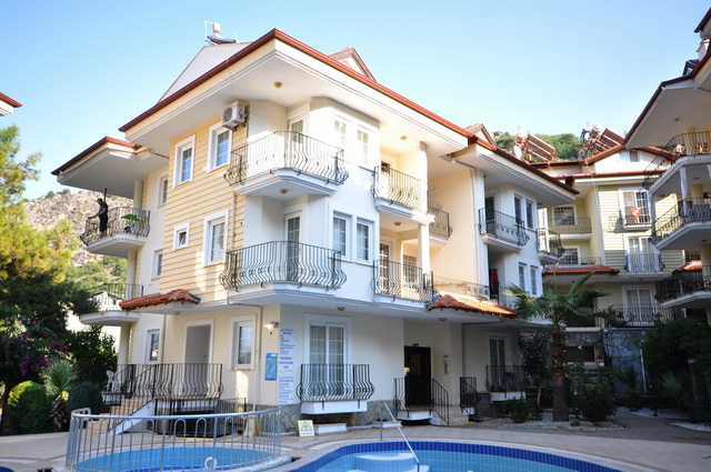 SOLD !!! Spacious Fethiye Apartment With Swimming Pool For Sale