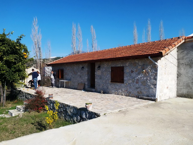 One Bedroom Stone Bungalow With Huge Land in Seydikemer (Tlos)
