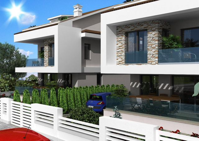 2 x 4 Bed Detached Villas with Private Pool is Semi Rural Area