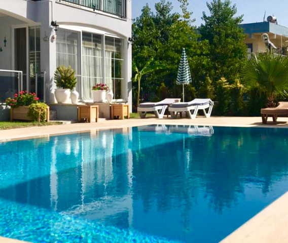 2 Bedroom Luxury Apartment with Swimming Pool in Calıs For Sale