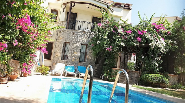 ON HOLD! 4 Bedroom Semi Detached Villa with Private Pool in Calıs
