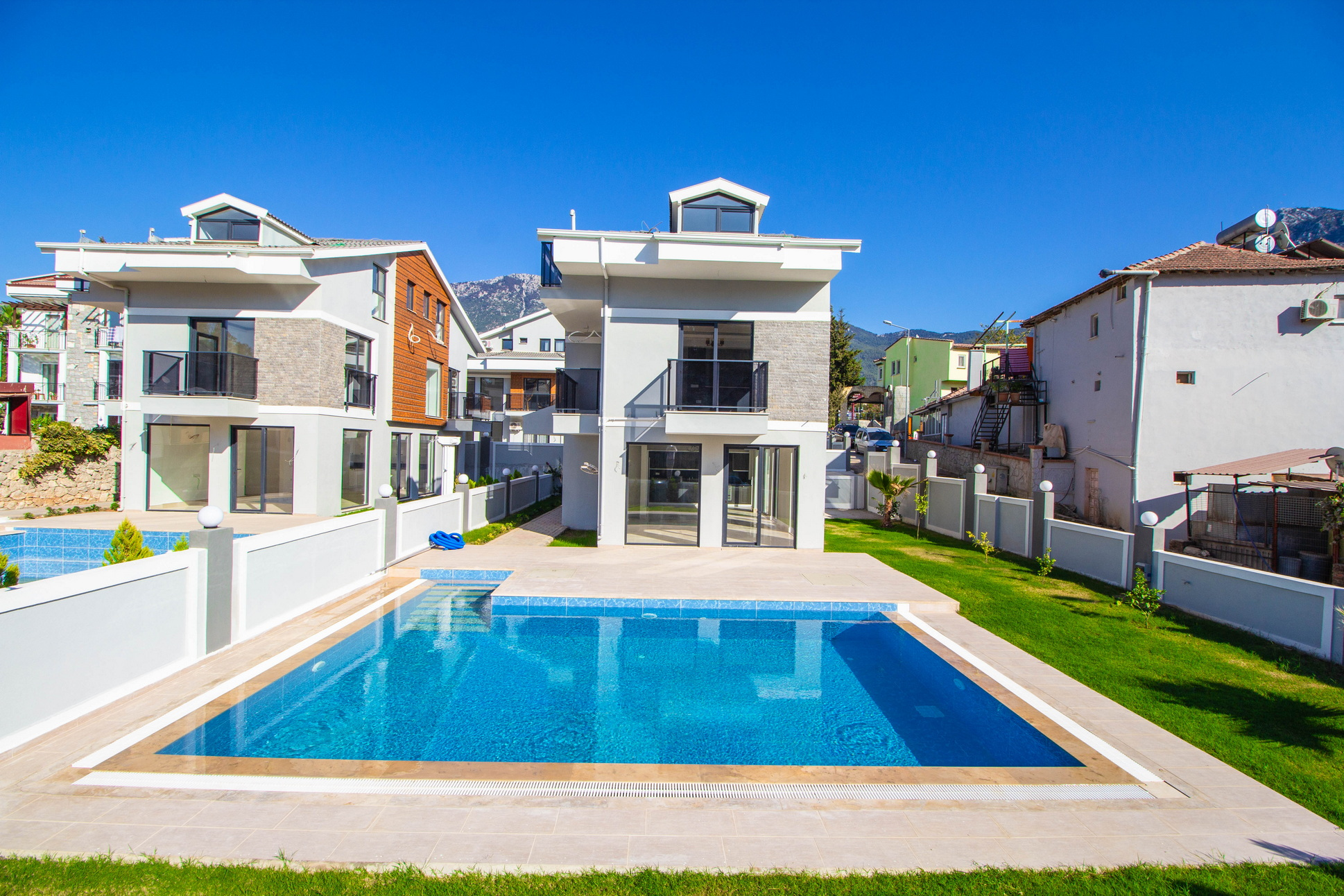 5 Bedroom Stuning Brand New Villas with Swimming Pool in Hisaronu For Sale
