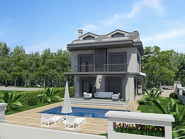 4 Bedroom Off Plan Detached Villa with Pool and Garden For Sale