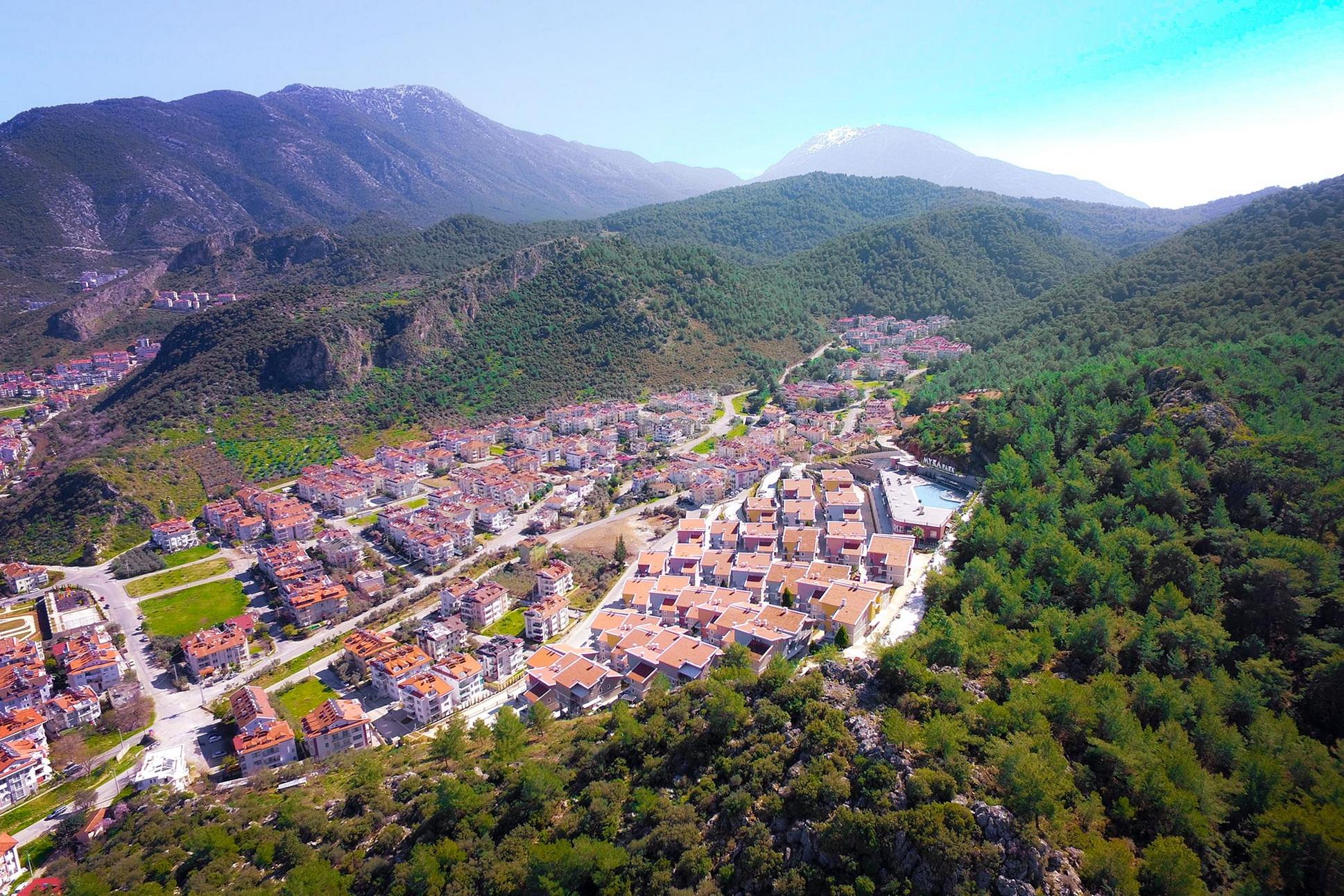 Brand New Residental Consept / Estate Complex in Fethiye For Sale