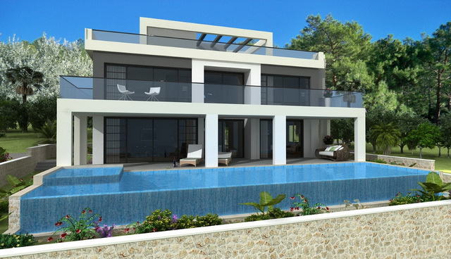 LUXURY 4 BEDROOM VILLA IN FARALYA WITH OPEN SEA VIEWS FOR SALE