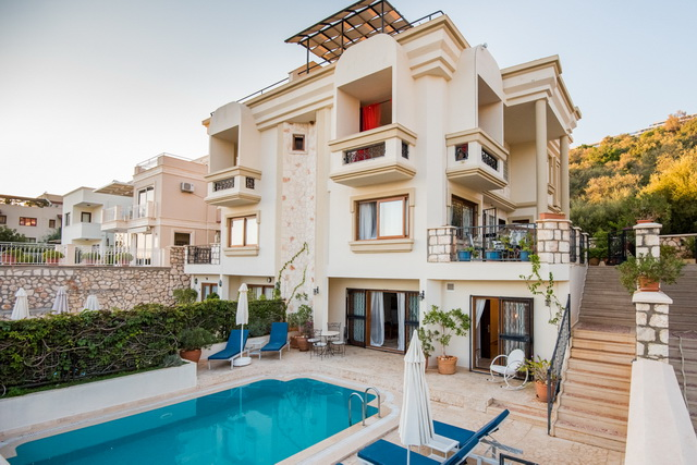 Stunning Sea View Villa Close to the Beach in Kalkan For Sale
