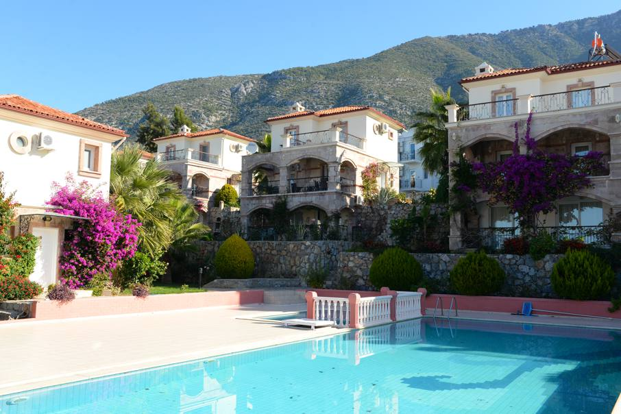 ON HOLD !!! 4 Bed Detached Villa with Communal Pool and Own Gardens in Ovacık