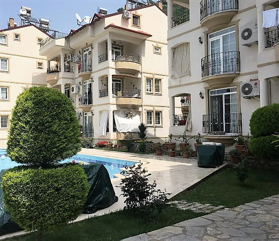 3 Bedroom  Duplex Apartment  with Shared Swimming Pool in Deliktas