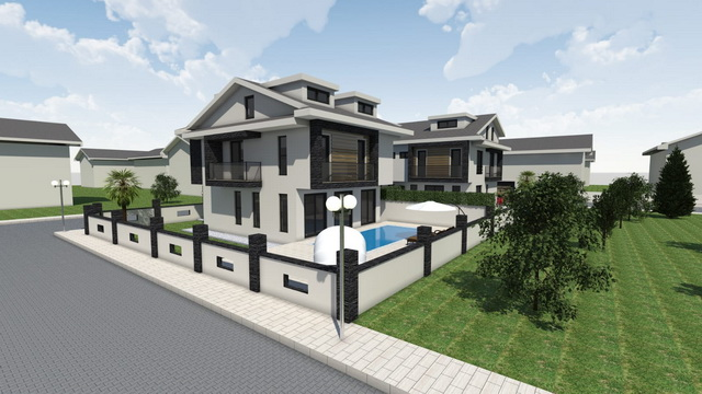 4 Bedroom Semi Detached Villas with Private Pool For Sale
