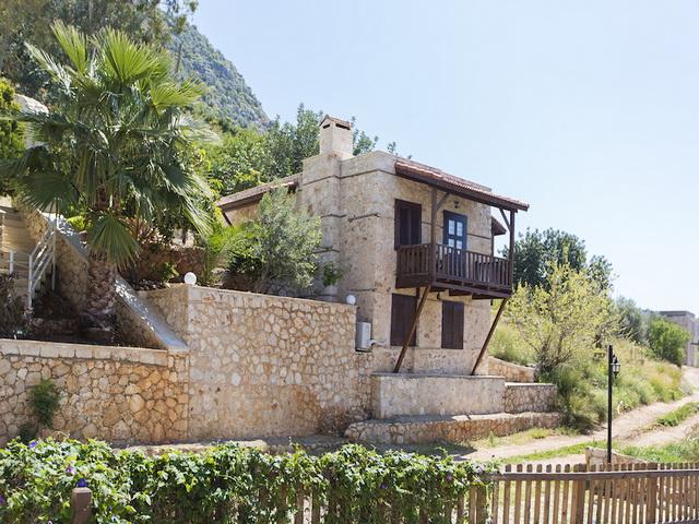 Sea View Duplex Stone House in Kalkan For Sale