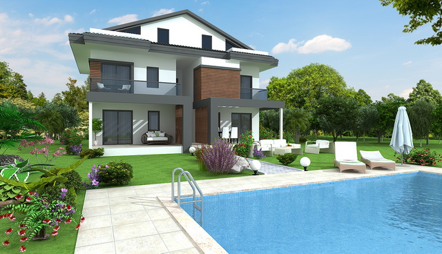 1/2 Bedrooms Brand New Apartment For Sale From Project  in Hisarönü