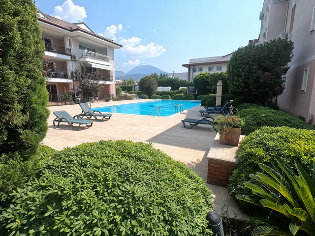 2 Bedroom Apartment with Shared Pool in Centre of Fethiye For Sale