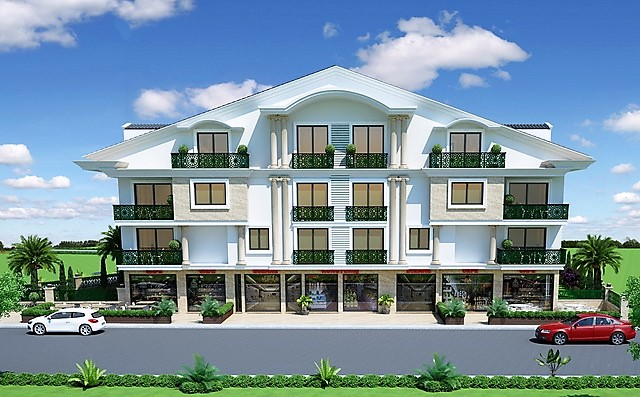 Off Plan Project !!! Brand New 2 and 4 Bedroom Apartments For Sale
