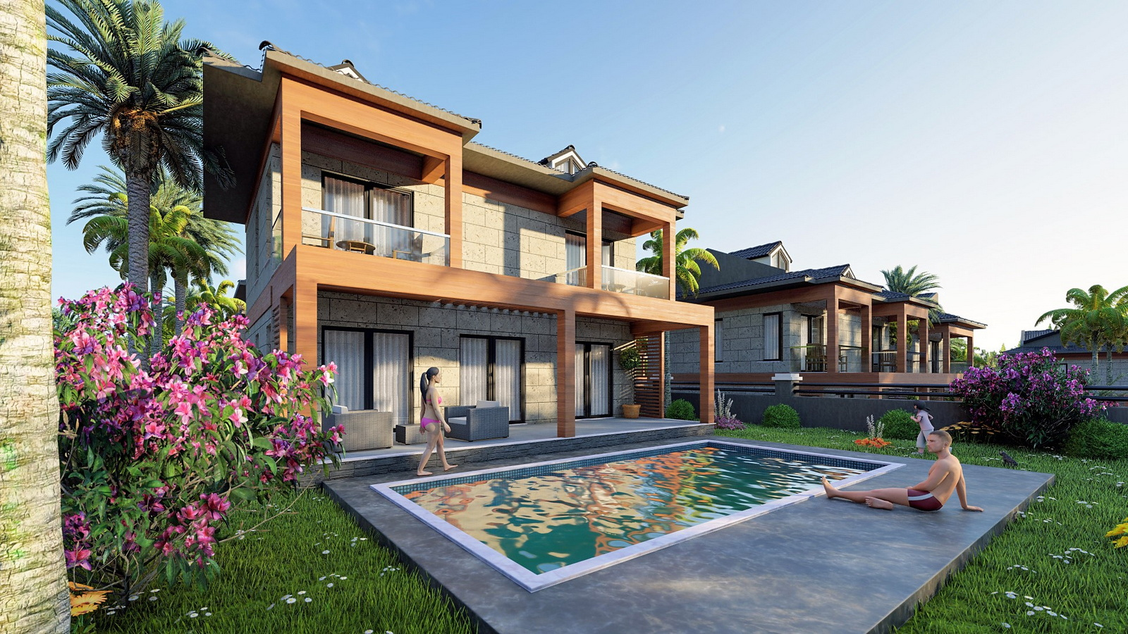 4 Bedroom Luxury Villas With Sea View & Private Pool For Sale