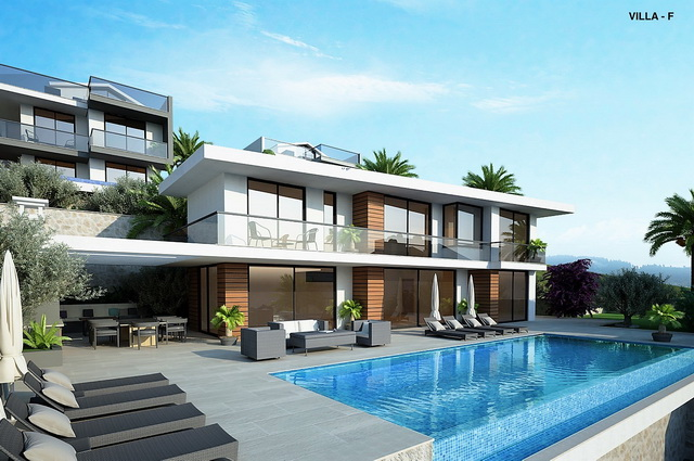 Off Plan Luxury Villas with Amazing Sea View & Infinity Pool For Sale