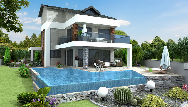 5 Bedroom Triplex Luxury Villa with Swimming Pool For Sale