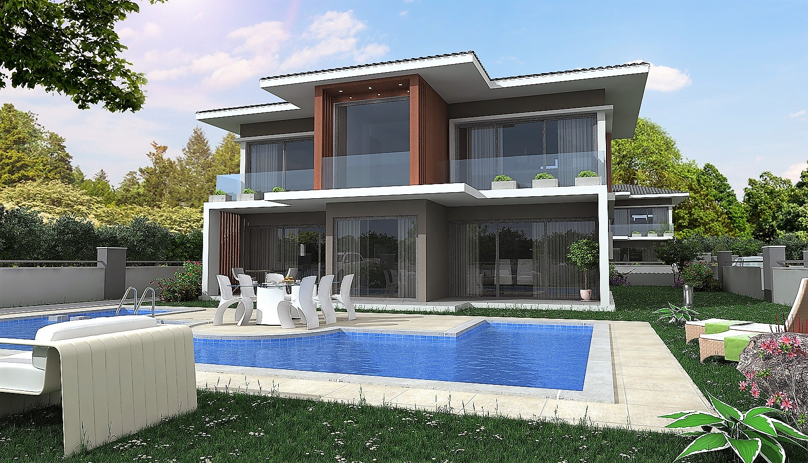 4 Bedroom Detached Villas with Swimming Pool For Sale