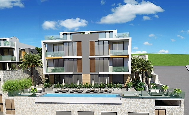 2 Bedroom Luxury Duplex Apartment with Sea View For Sale