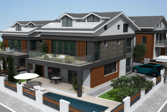 Off Plan 4 Bedroom Luxury Villas with Private Pool For Sale