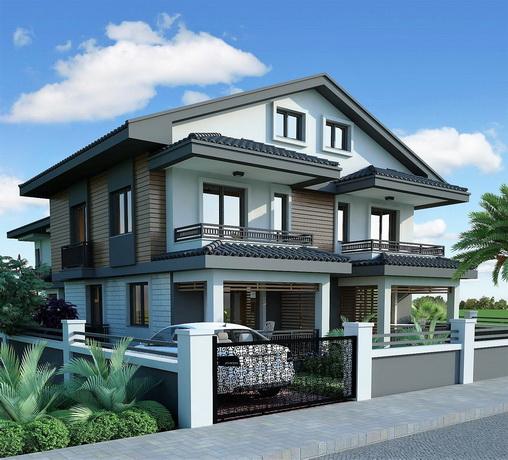4 Bedroom Semi Detached Villas with Garden For Sale
