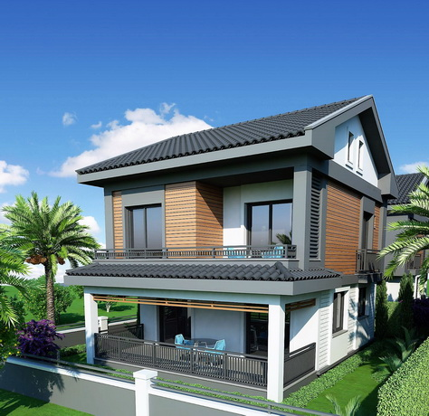 4 Bedroom Detached Triplex Villas For Sale