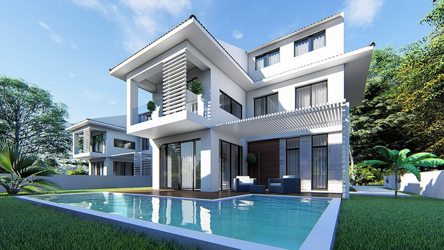 Exclusive 6 Bedroom  Villas in Walking Distance to The Calis Beach For Sale