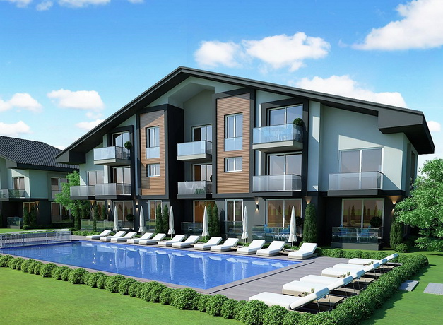 Off Plan 1  Bedroom Apartments Project For Sale