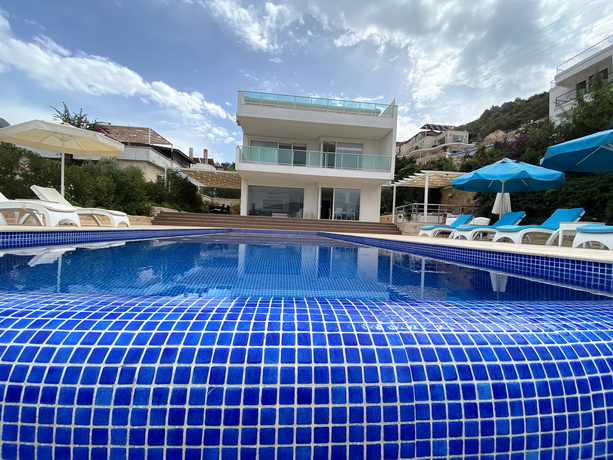 Luxury Kalkan Villa with Amazing Sea View & Infinity Pool For Sale
