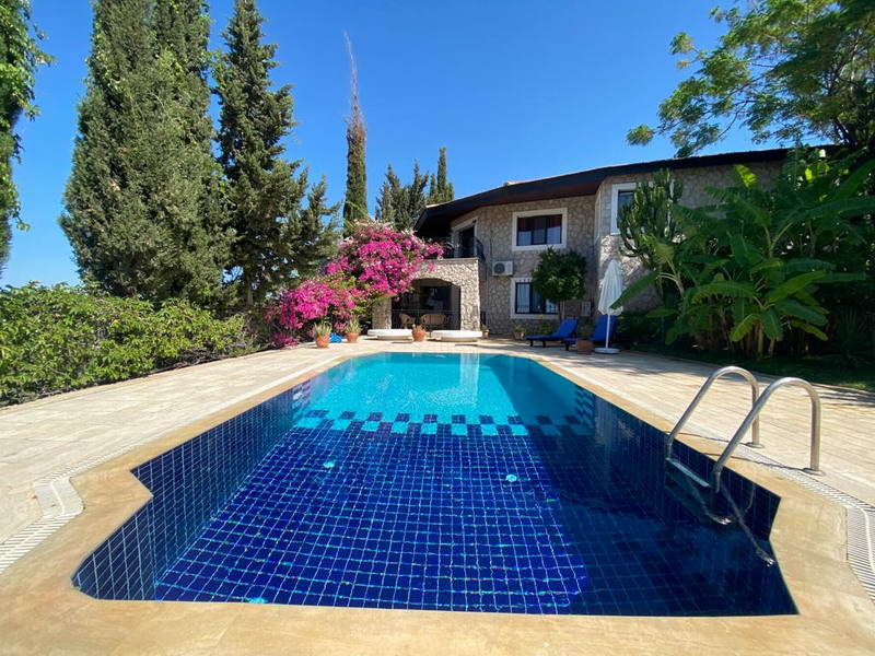 Spacious Countryside Villa  in Patara With Huge Courtyard For Sale