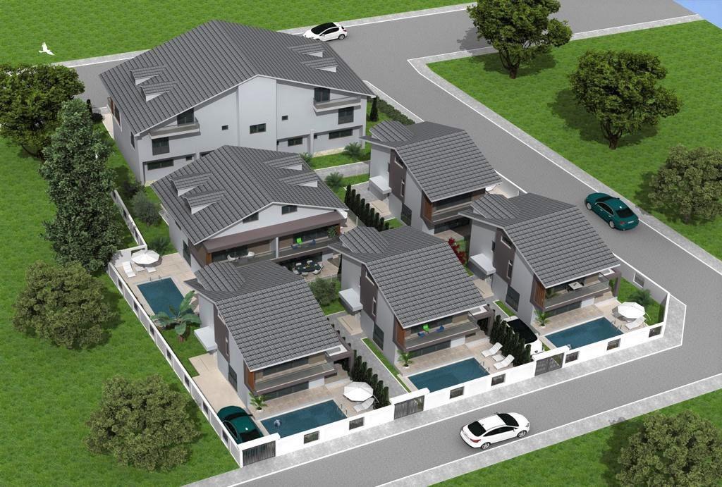 Off Plan 4 Bedroom  Triplex Villas with Private Pool & Garden
