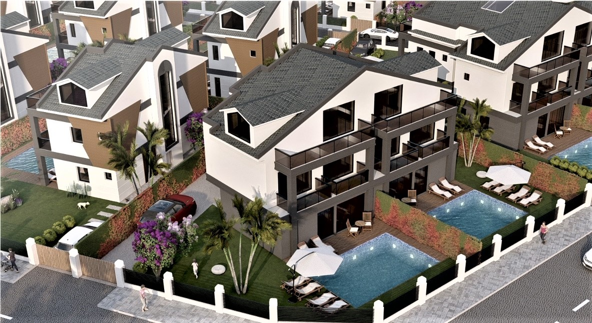 Off Plan Exlusive 3 Bedroom Villas in Walking Distance to the Beach For Sale