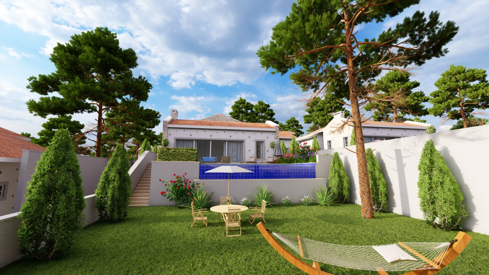 3 Bedroom Country Bungalows with Infinity Pool