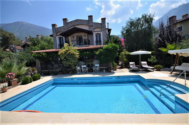 Fully Furnished Beautiful Detached Villa with Private Pool in Ovacik Fethiye