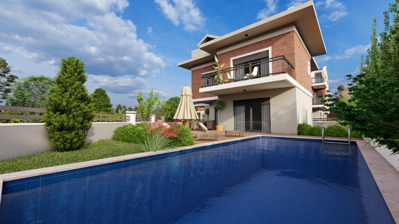 Off Plan 5 Bedroom Detached Triplex Villa with Private Pool &Garden For Sale
