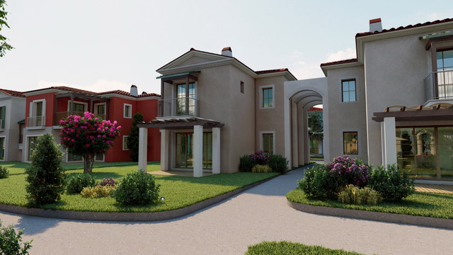 Off Plan Spacious Semi Detached  Villas with Communal Pool in a Fantastic Complex