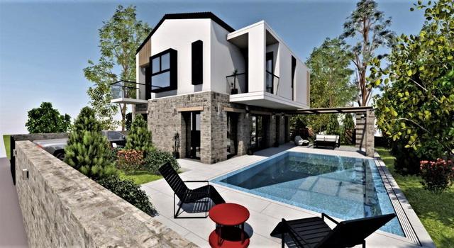 Off Plan 3 Bedroom Luxury Duplex Villas with Private Pool & Garden For Sale