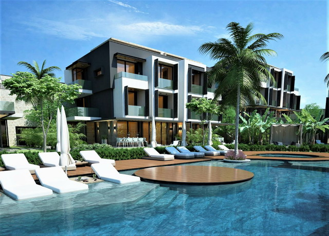 0ff Plan 2 & 4 Bedroom Duplex Apartments in an Exlusive Complex  For Sale